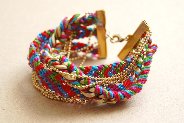 Bracelet bresilien bonjour darling