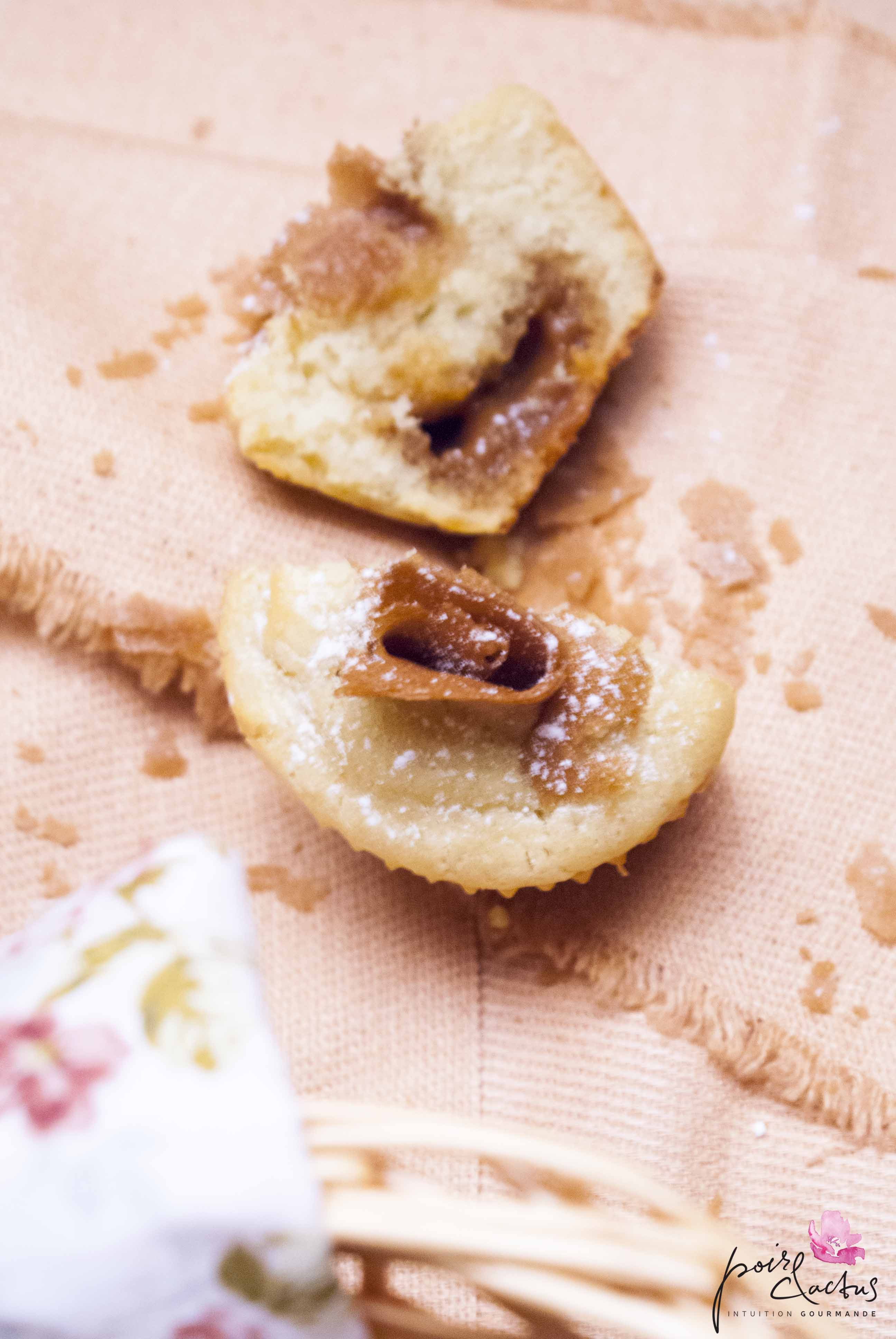 muffins caramel crepes de dentelle bretagne