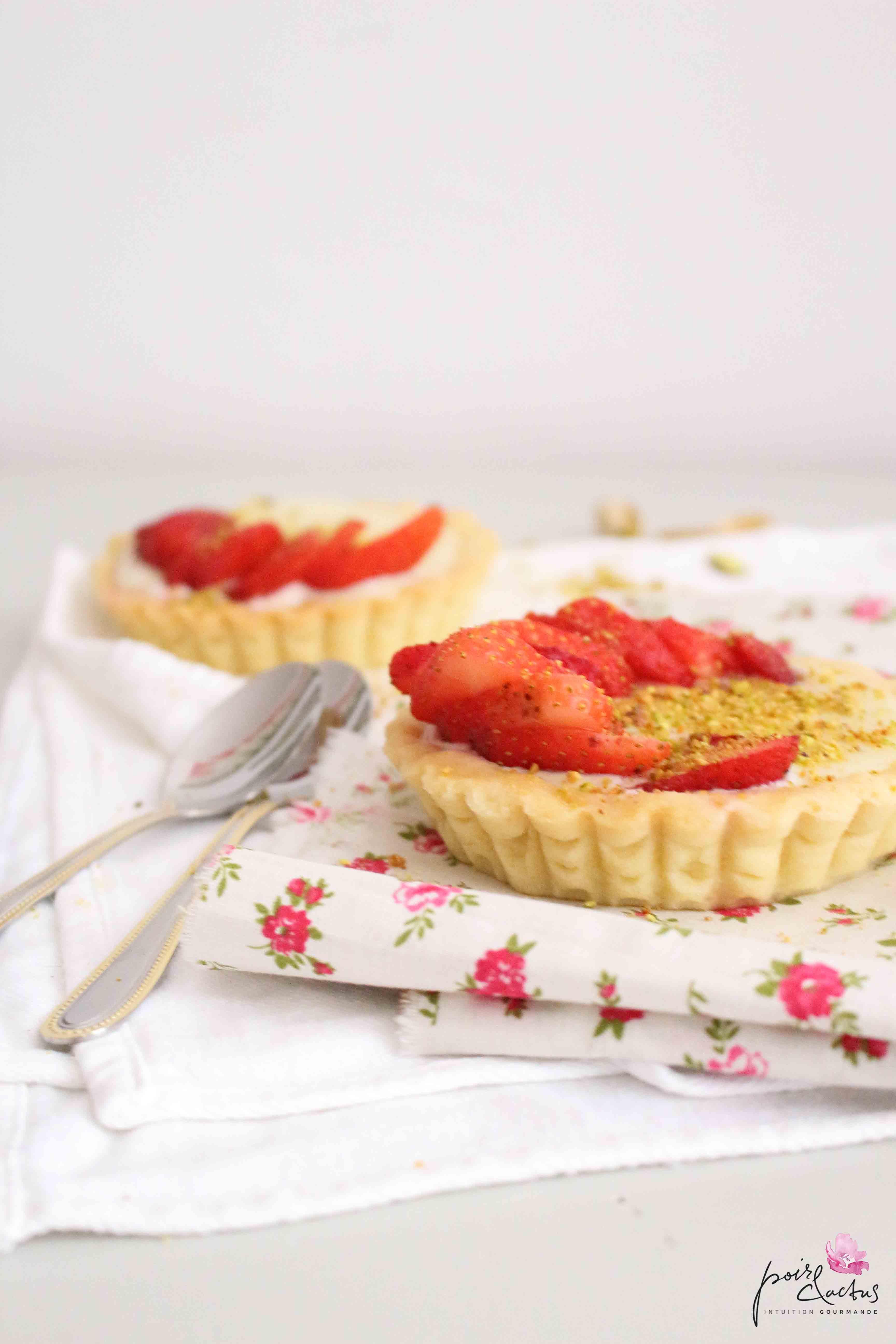 recette_tartelette_fraise_choco_blanc_poiretcactus