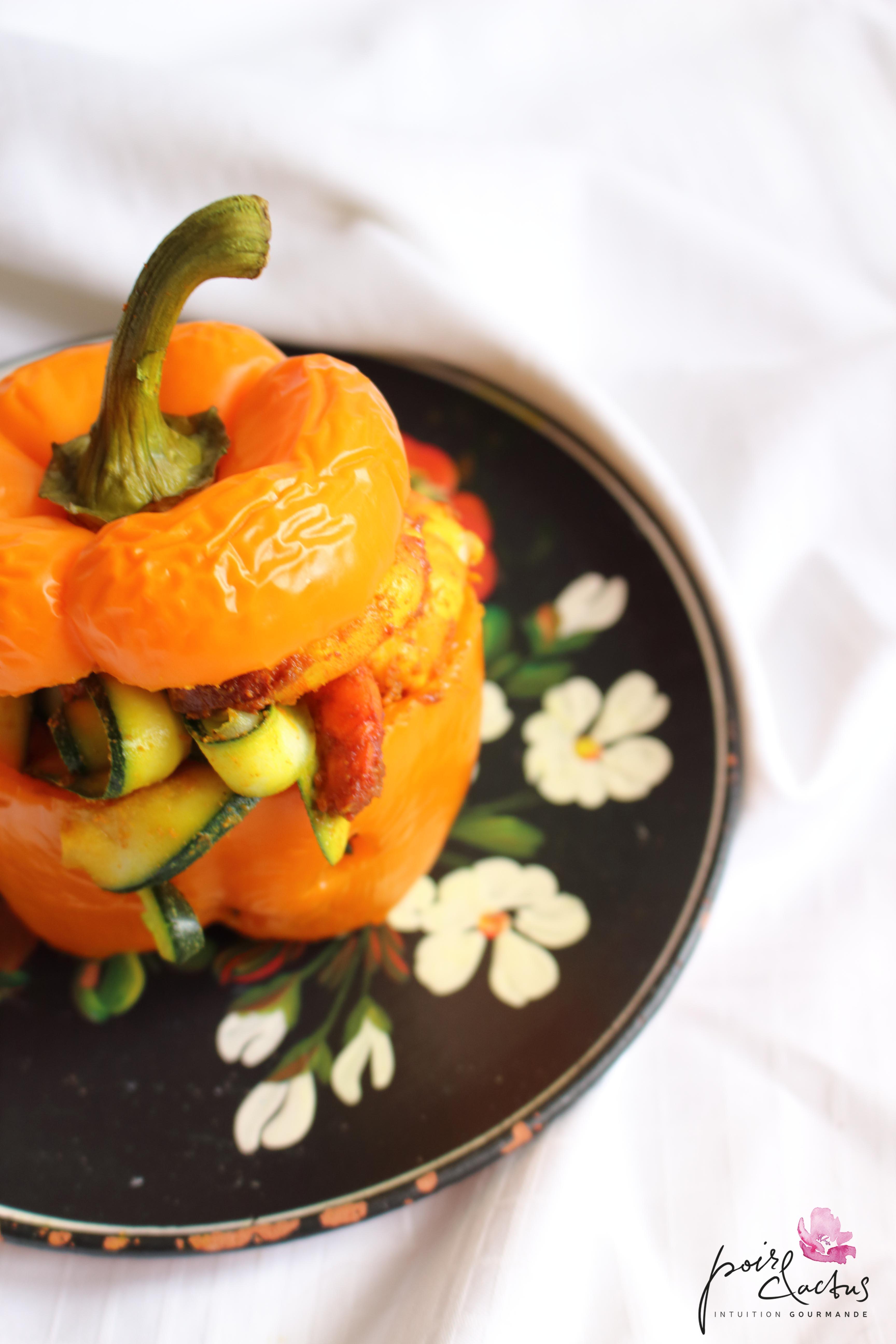 recette_poivrons_farcis_crevettes_curry_poiretcactus