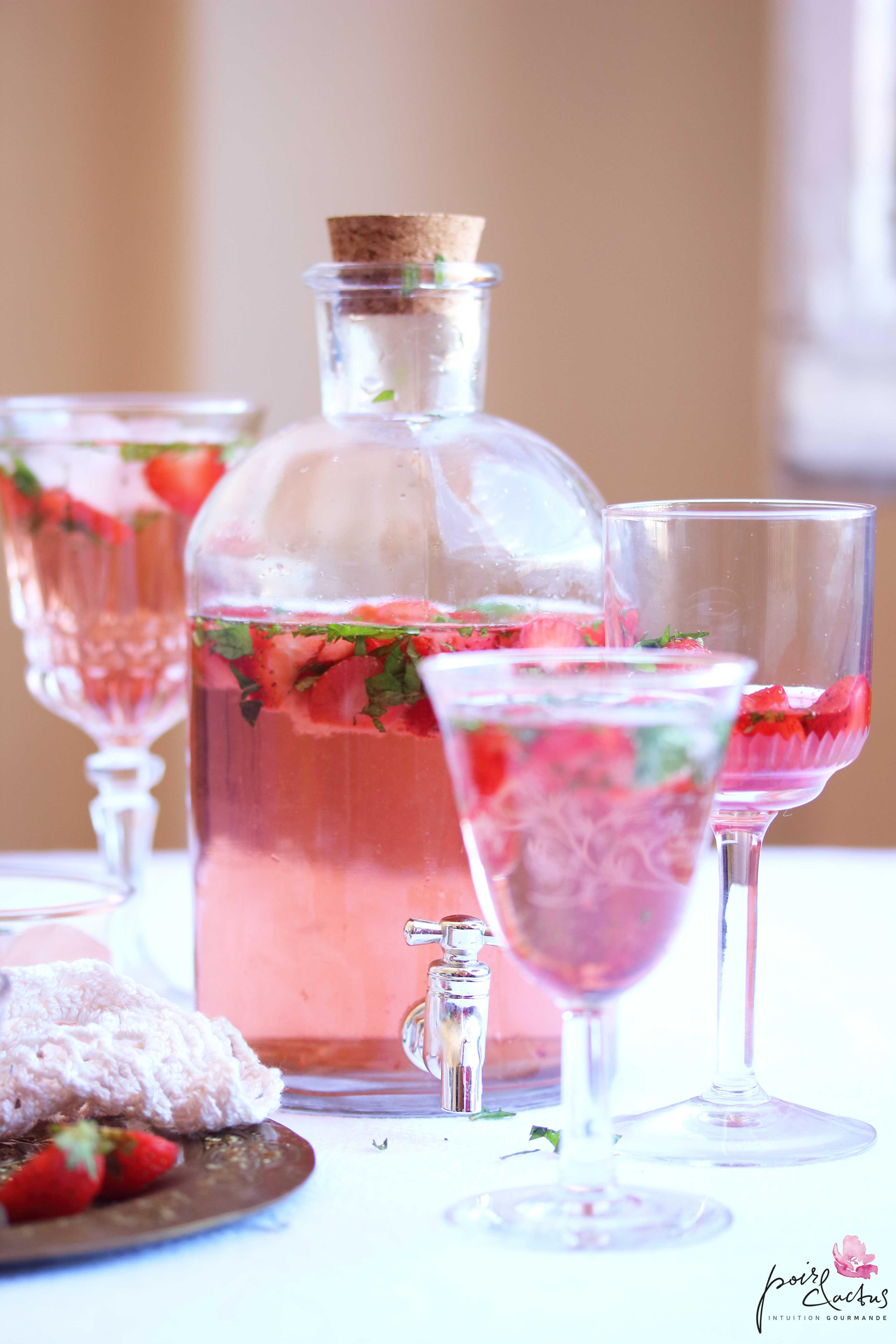 recette_the_glacé_fraise_menthe_poiretcactus