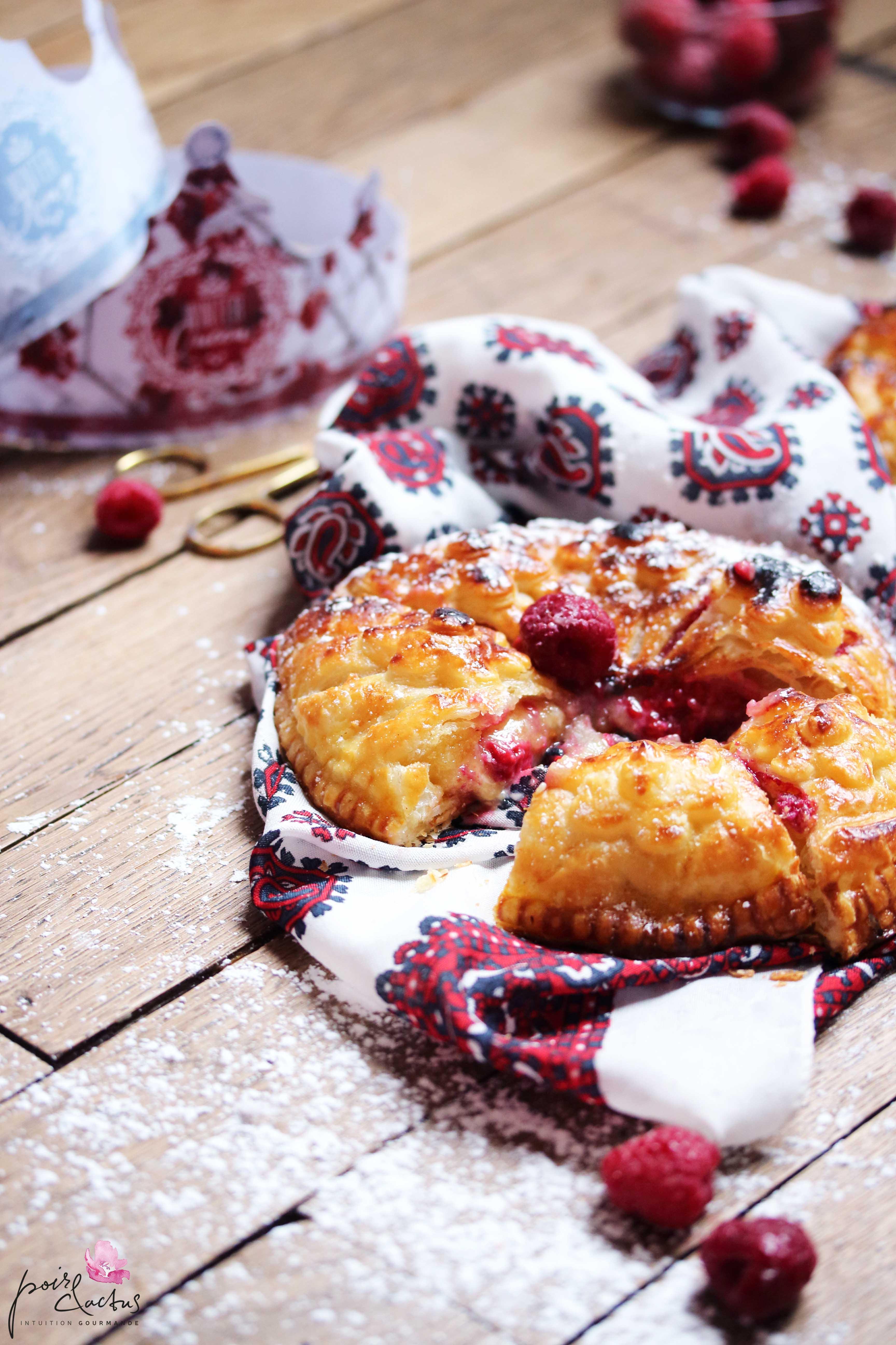 recette_galettedesrois_frangipane_framboise_chocolatblanc_poiretcactus4