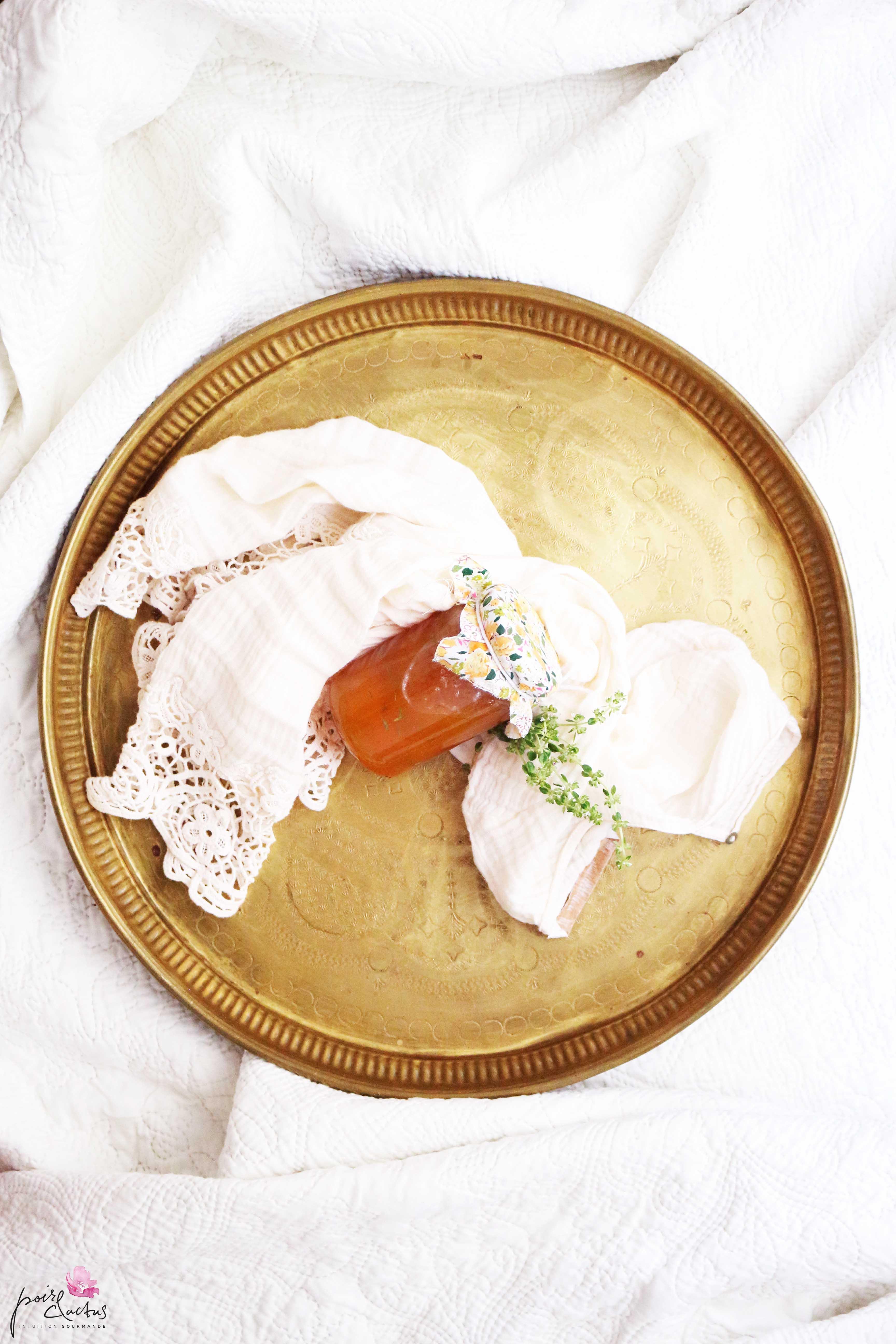 Recette confiture maison d 39 abricots thym et fleur d - Confiture d abricots maison ...