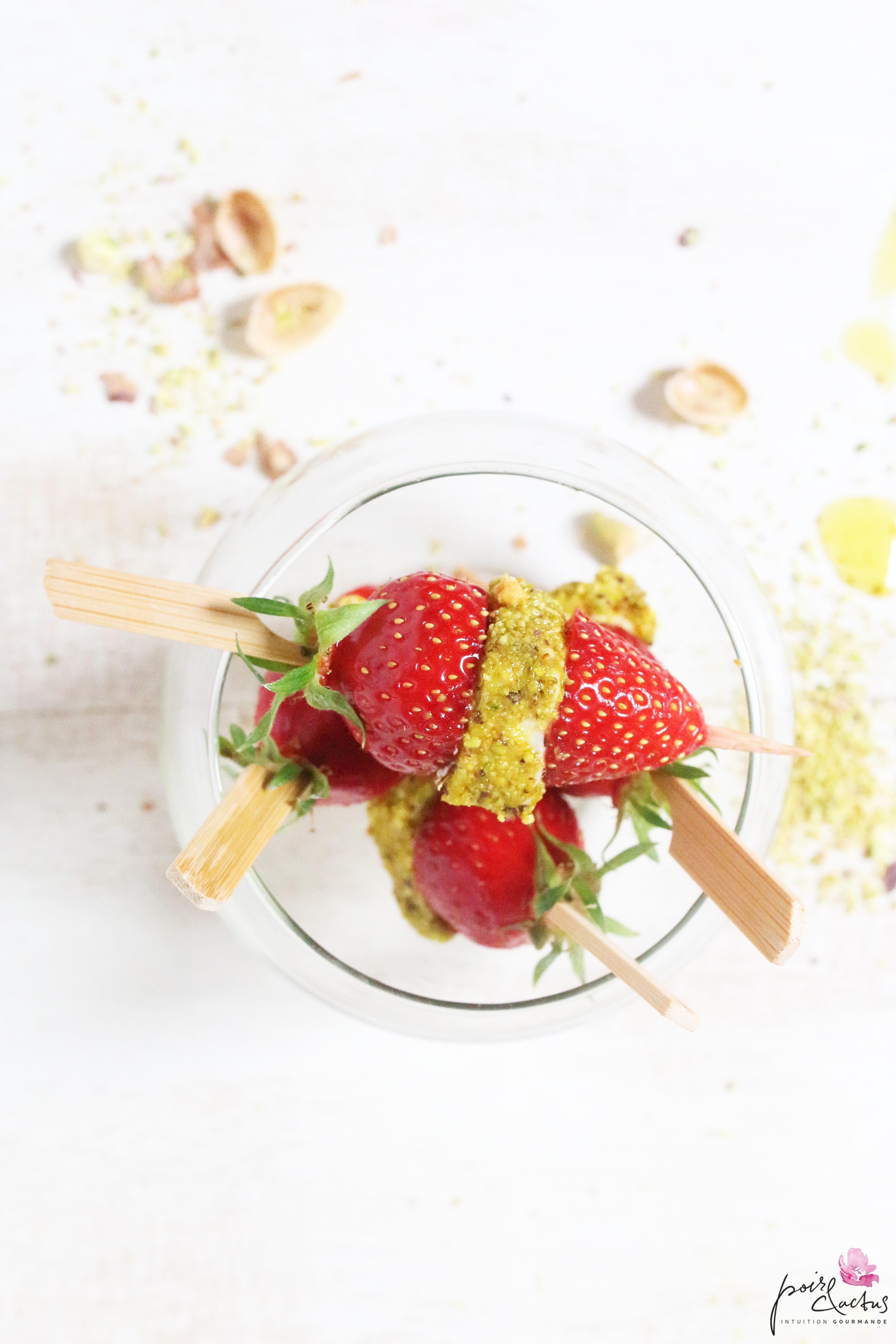 roule arome pistache